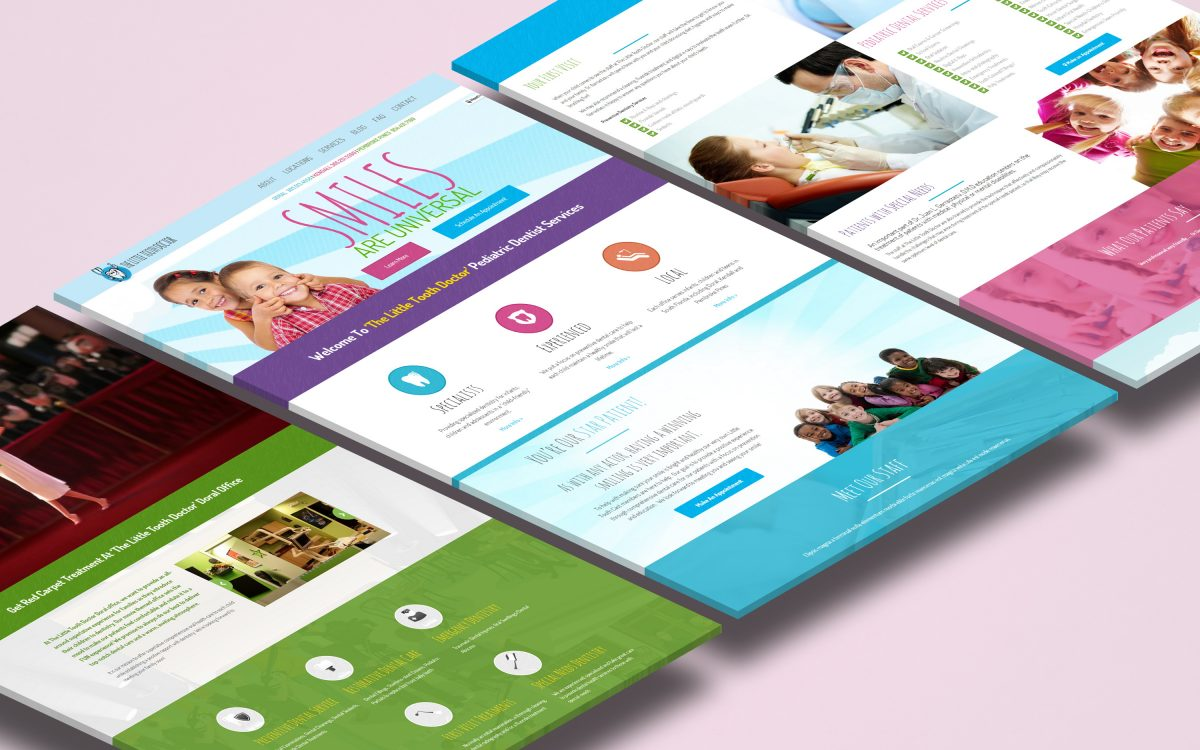 Little Tooth Doctor Website Design Agency