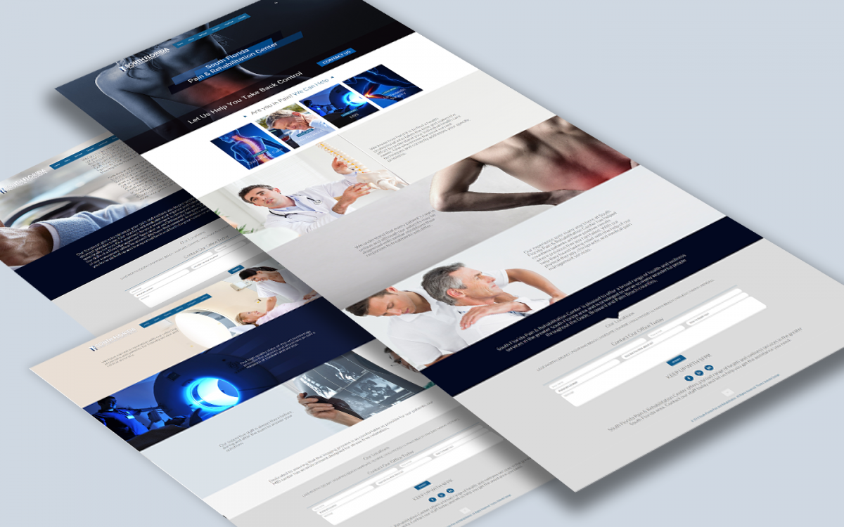 South Florida Pain and Rehab Web Design