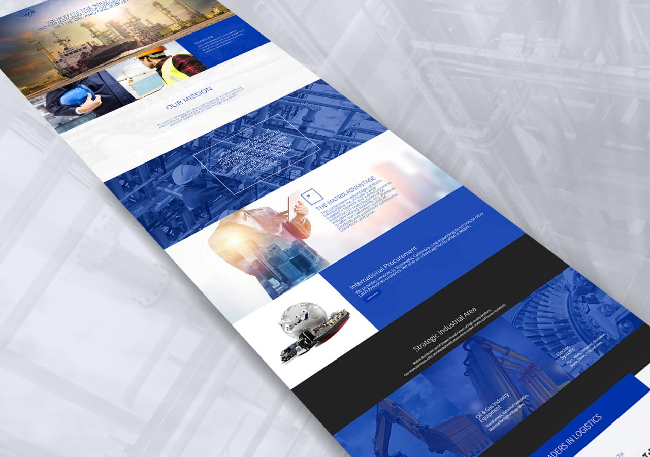 Matrix International Web Design