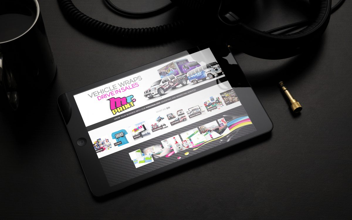 Mr Print Responsive iPad Ready Design