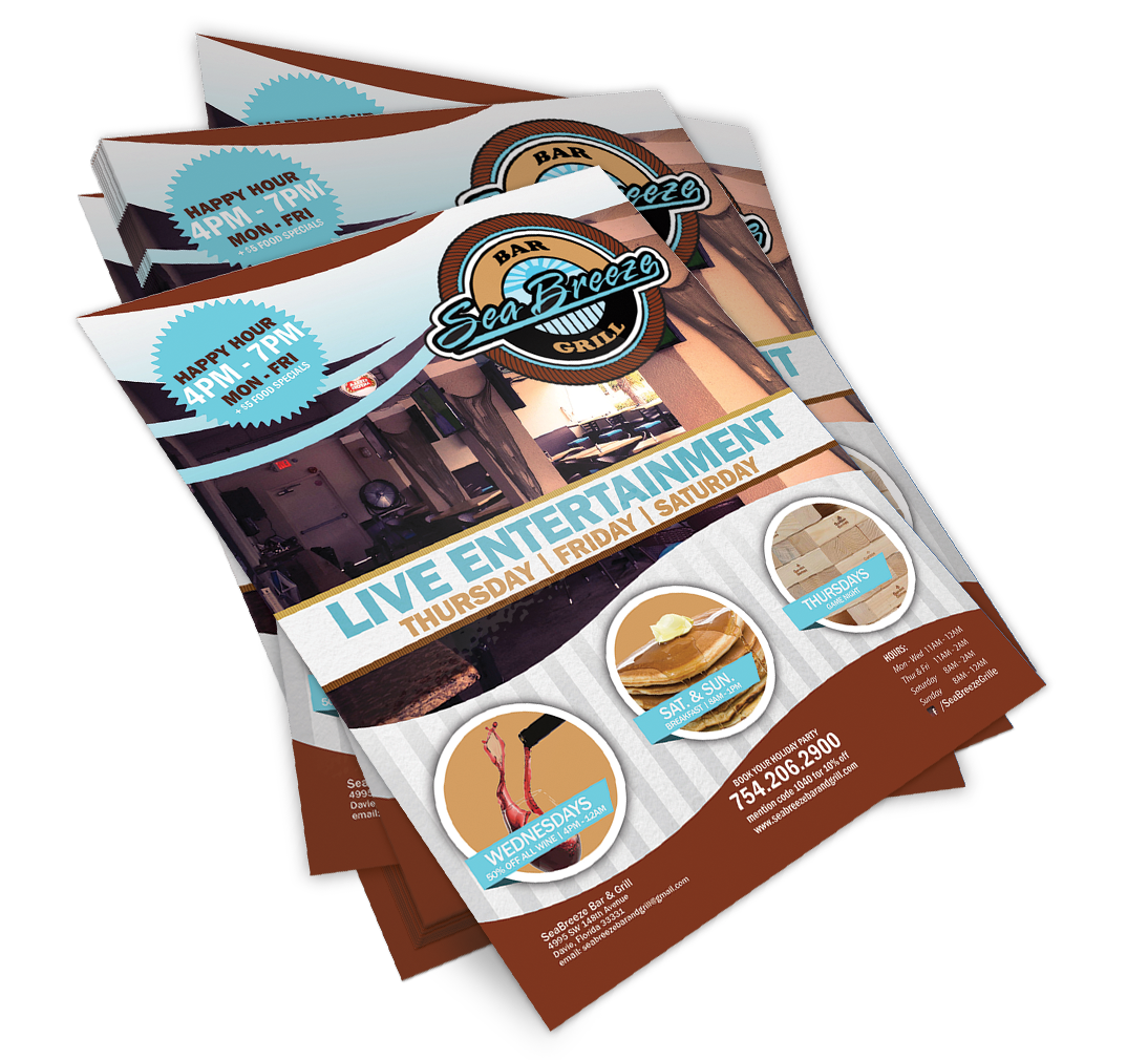 Poster Design Services for Seabreeze