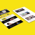 Landing Page Marketing Design