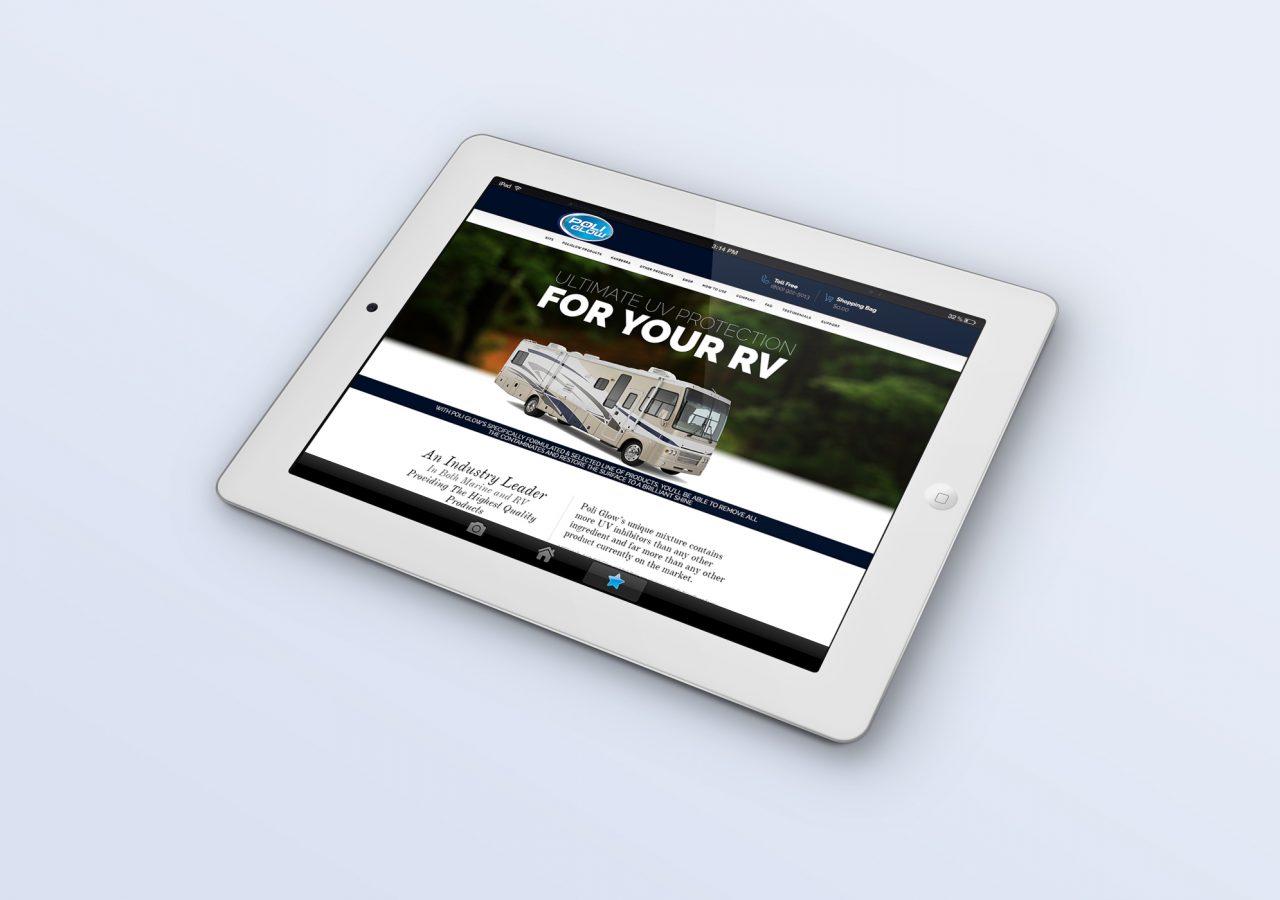 iPad Website Design Thynks Marketing Agency