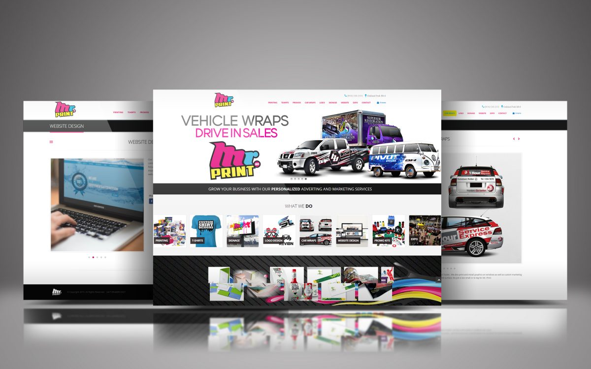 mr print website design agency davie weston broward