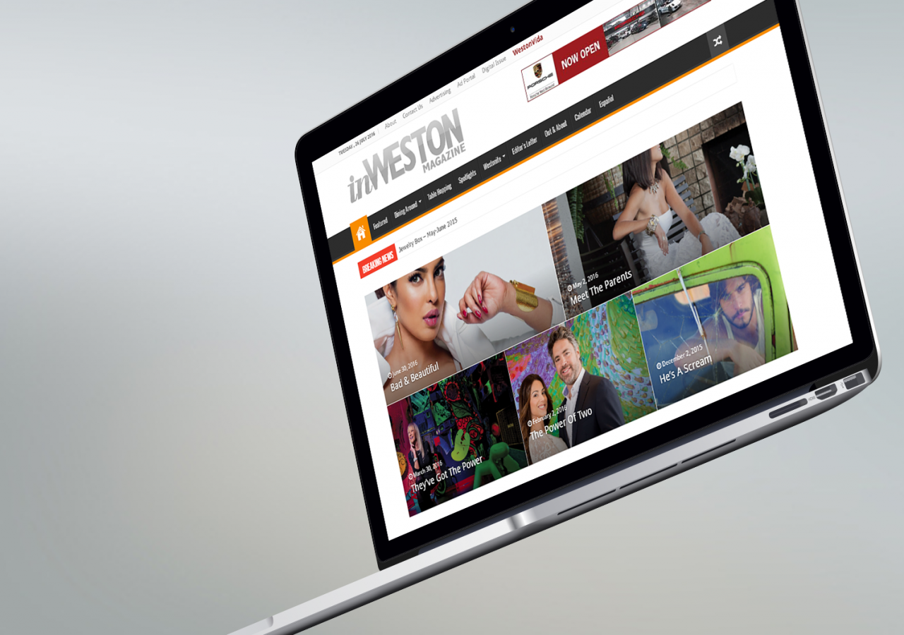 south florida web design in weston