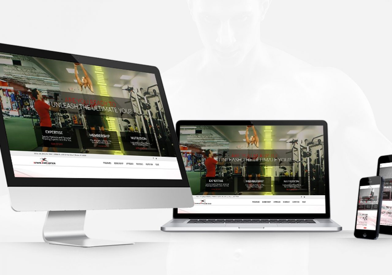 Ultimate Sports Institute Responsive Design