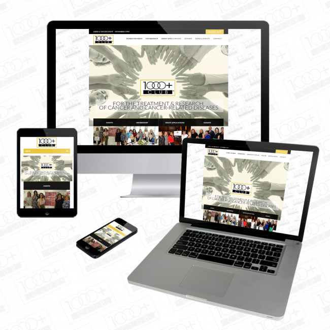 1000 Plus Website Responsive Redesign