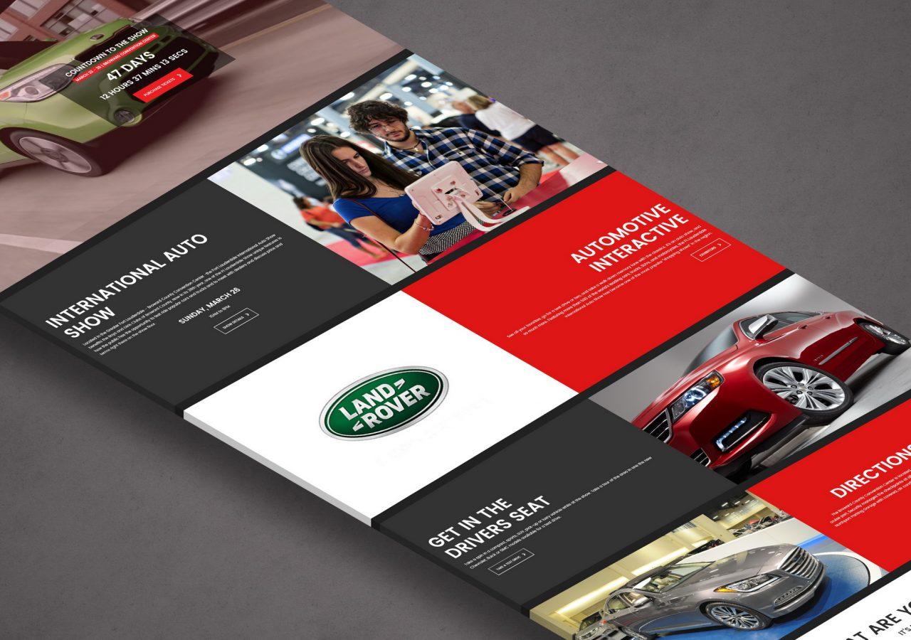 fort lauderdale auto show web design