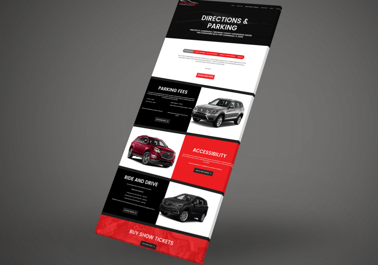 international automotive show design